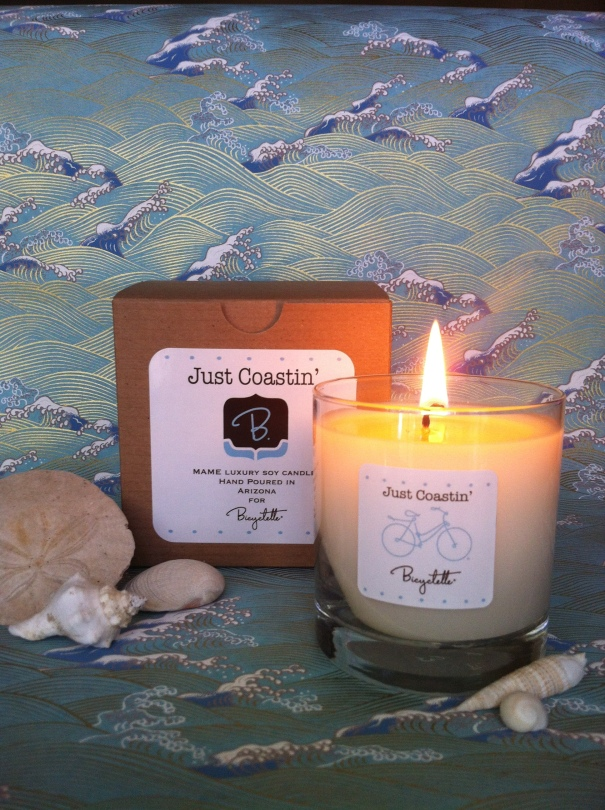 New Handpoured Soy Wax Candle with an Ocean Breeze Fragrance
